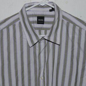 Hugo Boss dress mens shirt size XXL J1068